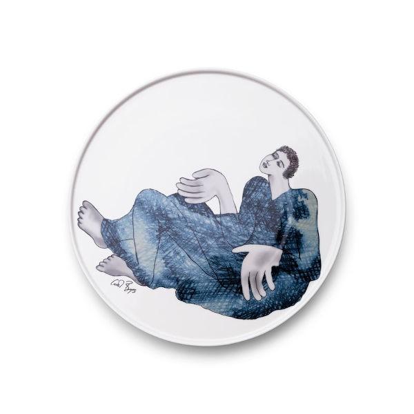 Platter Round 28cm - INDIGO GIRLS