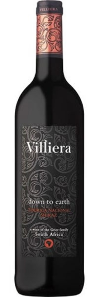Villiera Down to Earth Red 2017