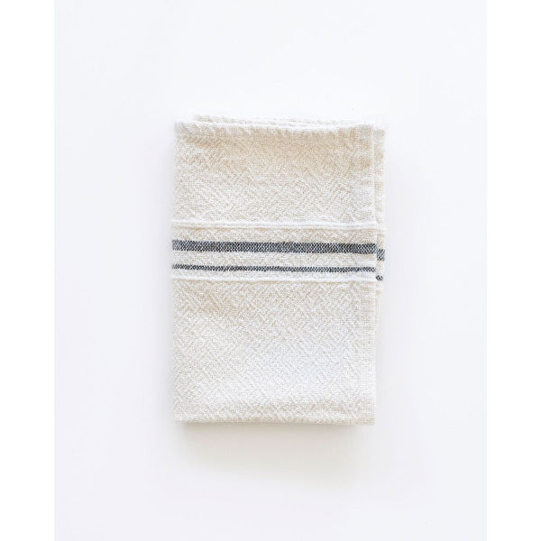 Barrydale Hand Weavers Country Towel - small VS - CHARCOAL