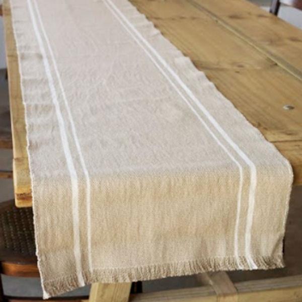 Barrydale Hand Weavers Tischläufer STONE