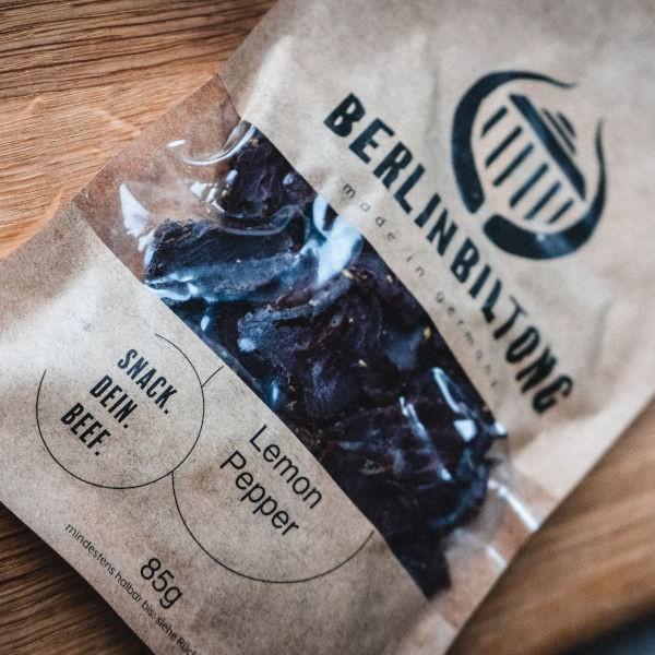 Berlin Biltong Lemon Pepper