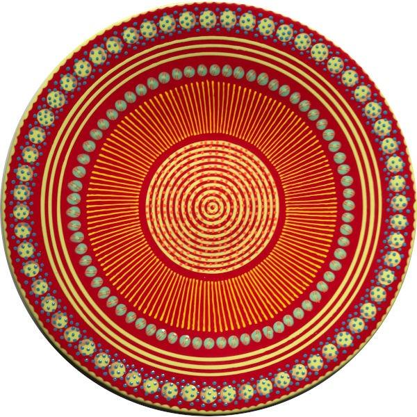 Potterswork Bowl Open - rot-orange