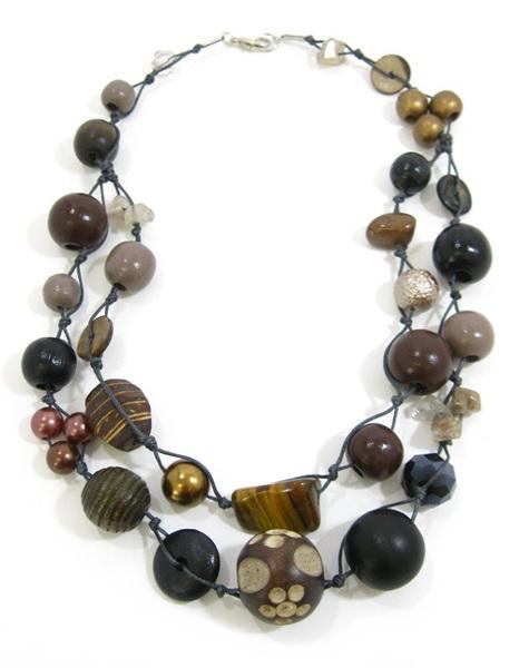 Halskette 2-Strang OAKSMOKE