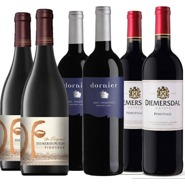 6er Pinotage WeinPaket