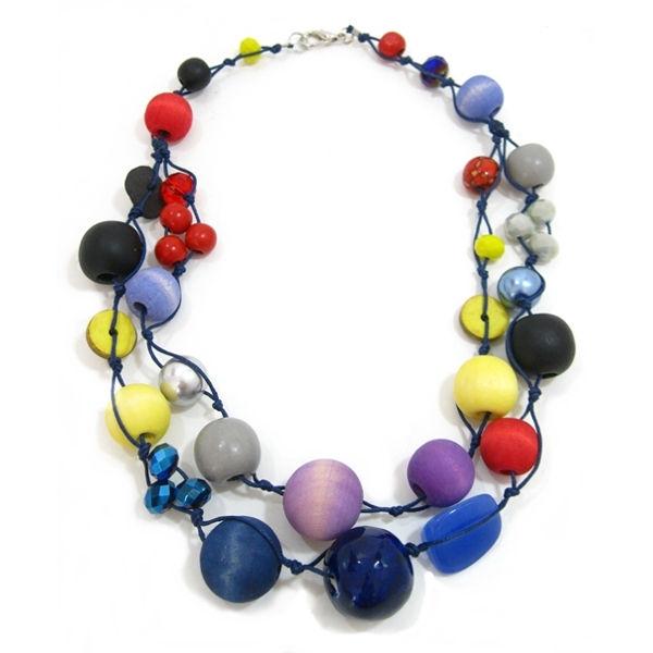 Halskette 2-Strang PRISM