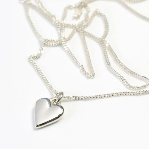 Angelheart Silver on Chain