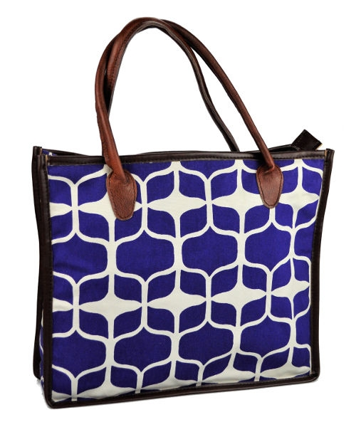 Mongoose Shopper Bag Graphic Indigo
