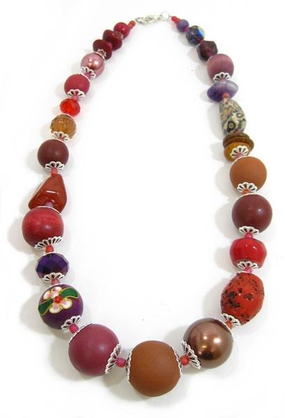 Halskette Floral Glam BERRY ORCHARD