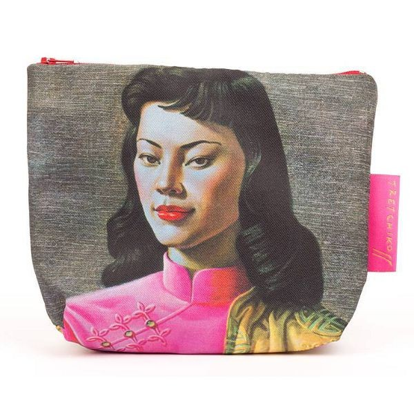 Vladimir Tretchikoff Cosmetic Bag MISS WONG