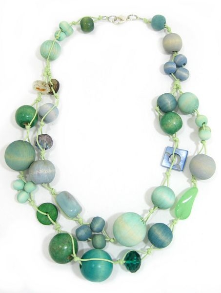 Halskette 2-Strang COOL MOSS