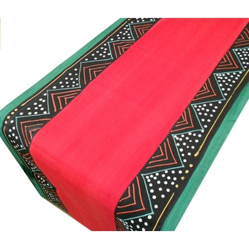 """Tischläufer """"Ndebele Red"""""""