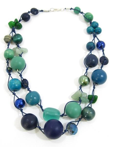 Halskette 2-Strang CAPRI