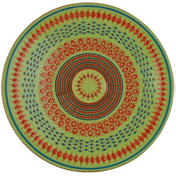 Bowl Open - grün/orange