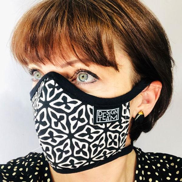 Peppertree Mund-Nasen-Maske SEED BLACK