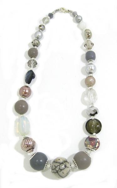 Halskette Floral Glam SLATE