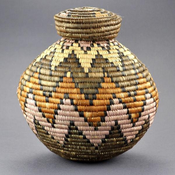 Ilala Weavers Bottle Neck Basket