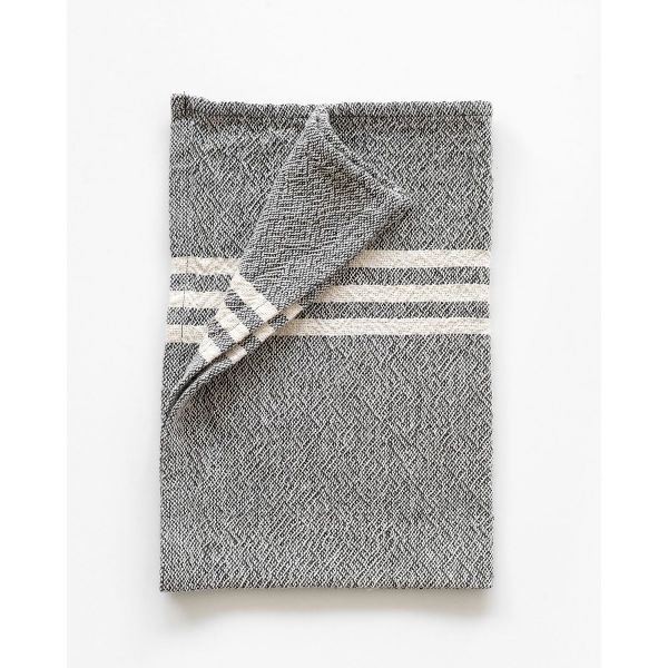 BHW Contemporary Towel - small SOE - CHARCOAL