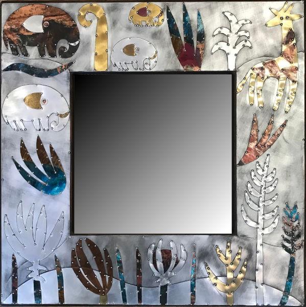 Sue Jowell Spiegel Floral-Wildlife