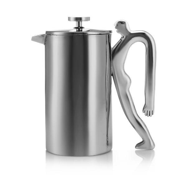 Carrol Boyes Coffee Plunger FULL OF BEANS