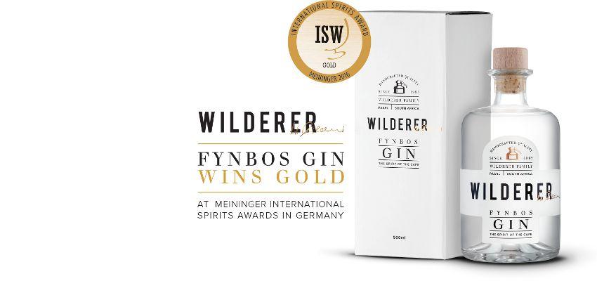 Wilderer Grappa & Gin aus Südafrika