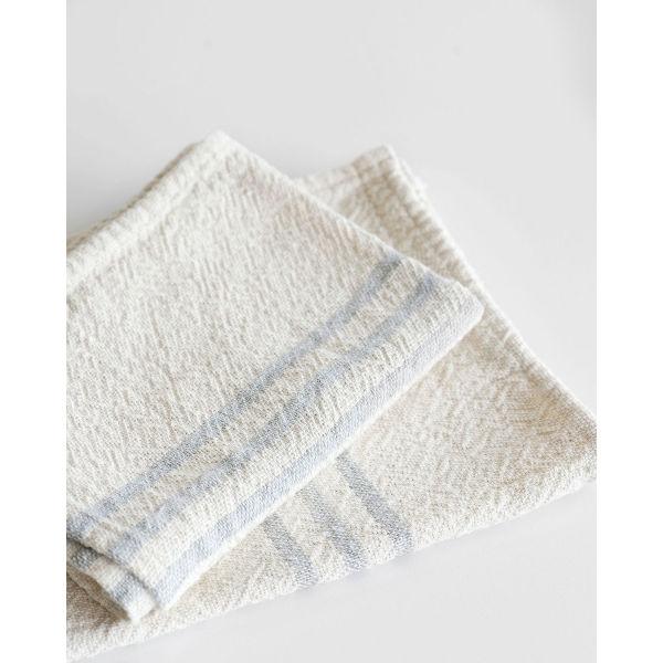 Barrydale Hand Weavers Country Towel - small SOE - GREY