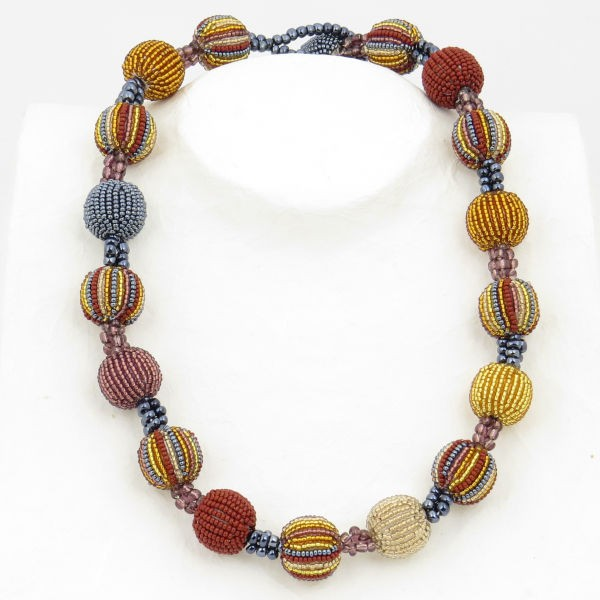 Halskette 18 Baubles (Golden Earth)