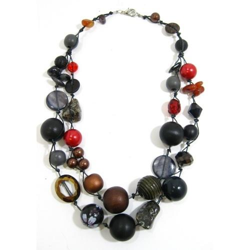 Halskette 2-Strang FIREPLACE