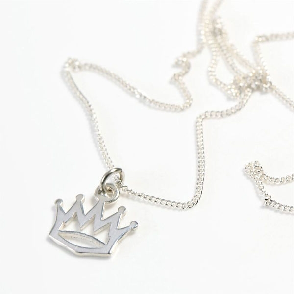 Angelheart Crown Silver on Chain