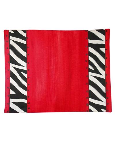 "Platz-Set ""Red Zebra"""