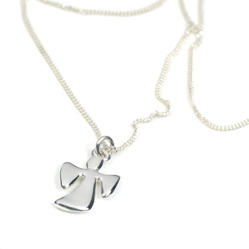 Angel Silver on Chain