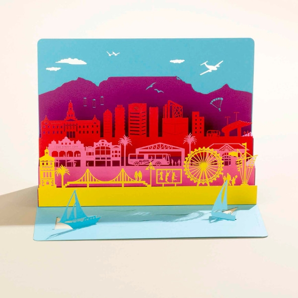 Postkarte Cape Town Pop-Up
