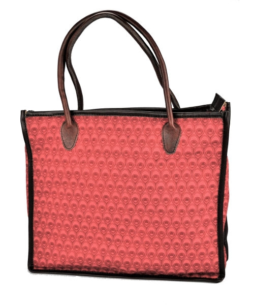 Mongoose Shopper Bag Peacock Coral