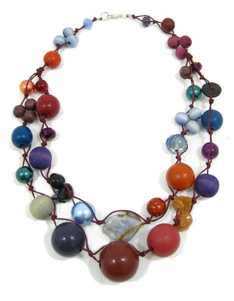 Halskette 2-Strang KINGFISHER