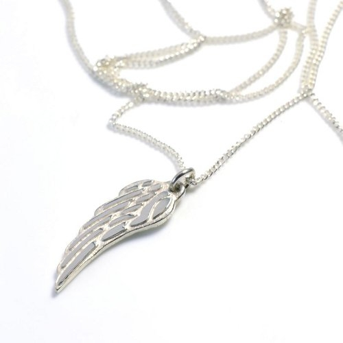 Angel Silver Wing on Chain