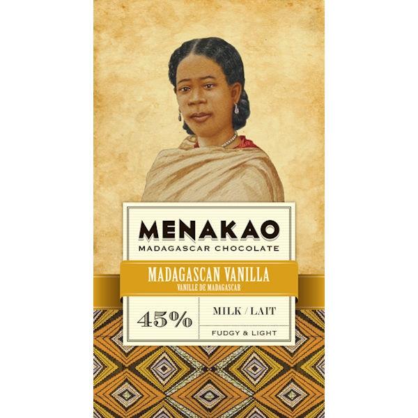 Madagascan Vanilla Milk Chocolate 45%