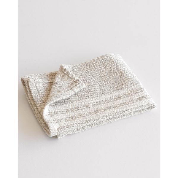 BHW Contemporary Towel - small SOE - STONE