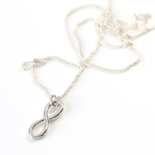 Angelheart Infinity Silver on Chain
