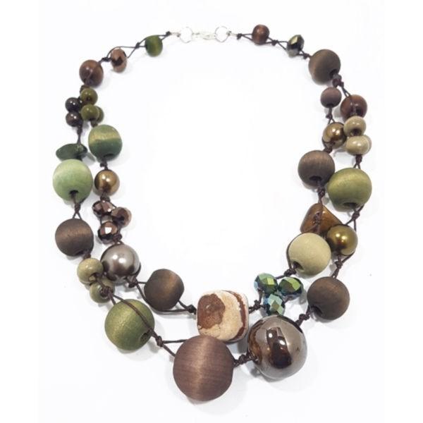 Halskette 2-Strang SEA GRASS
