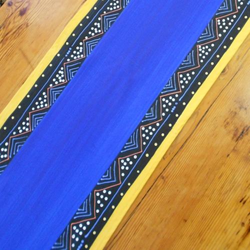 """Tischläufer """"Ndebele Blue"""""""