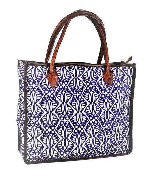 Mongoose Shopper Bag Jembe Indigo