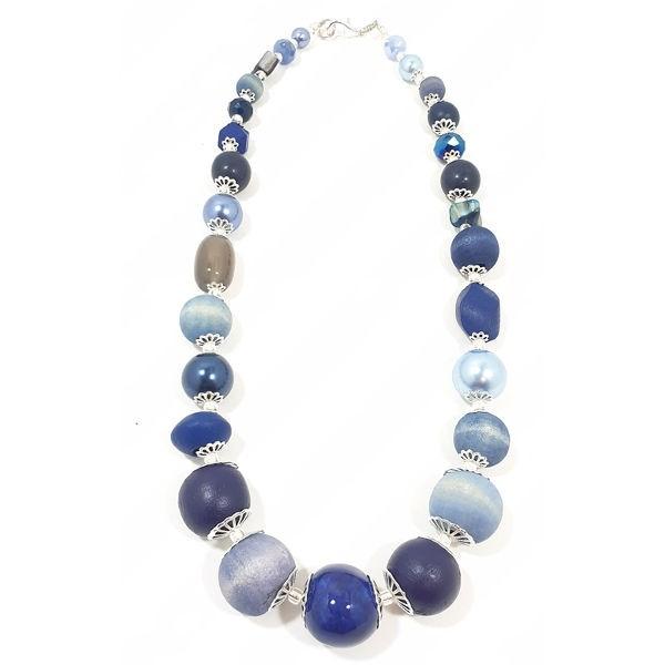 Halskette Floral Glam BLUE JEANS