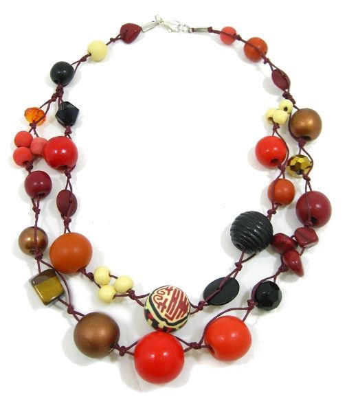 Halskette 2-Strang GEISHA