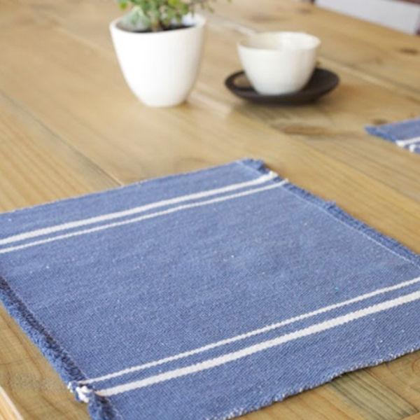 Barrydale Hand Weavers Platz-Set INDIGO (41x32cm)