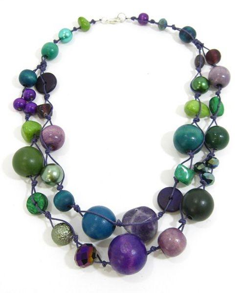 Halskette 2-Strang P-G-T