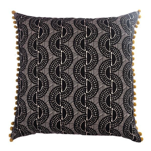 DesignTeam Kissen PEPPERCORN BLACK (50x50cm)