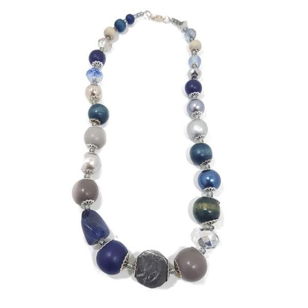 Halskette Floral Glam BLUE DOVE