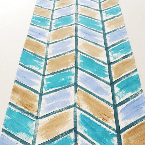 """Tischläufer """"Crayola Ocean Blue"""""""