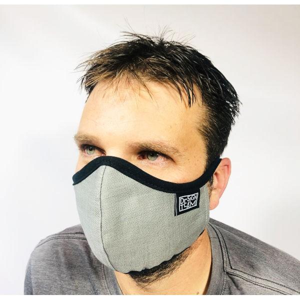 Peppertree Mund-Nasen-Maske GREY