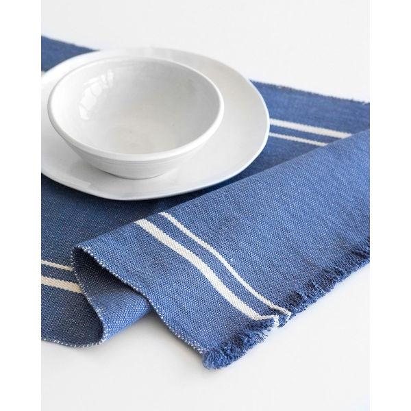 Barrydale Hand Weavers Tischläufer INDIGO