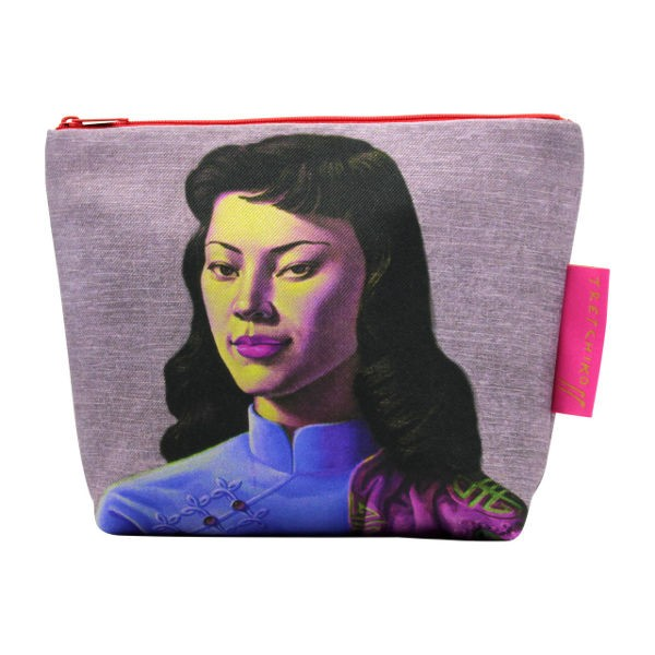 Tretchikoff Cosmetic Bag Chinese Girl lilac